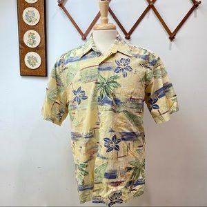 Pierre Cardin Vintage Hawaiian Shirt